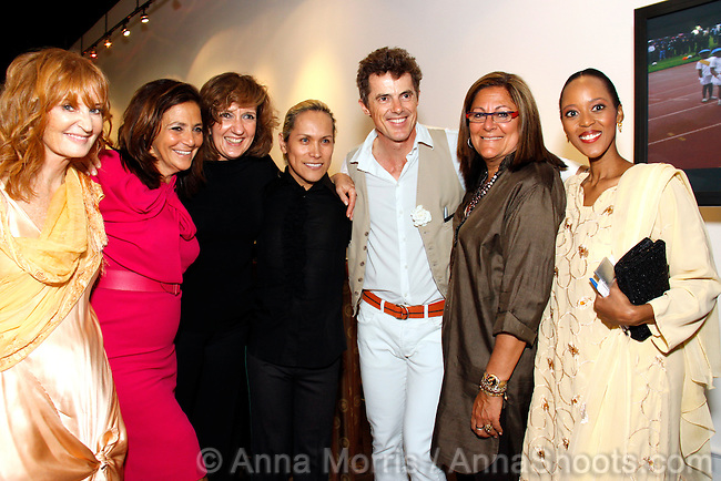 The book by Alethea Gold with photographs by Luca Zordan was presented by Irene Albright's Mina Gallery and Colin Cowie Lifestyle in collaboration with MaAfrica Tikkum.