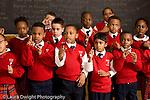 k-8 Parochial School Bronx New York arts enrichment music chorus sign language song with hand gestures horizontal