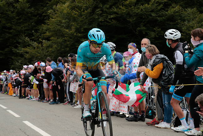 Miguel Angel Lopez (COL) Astana Pro Team climbs Col de Marie Blanque during Stage 9 of Tour de France 2020, running 153km from Pau to Laruns, France. 6th September 2020. <br /> Picture: Colin Flockton | Cyclefile<br /> All photos usage must carry mandatory copyright credit (© Cyclefile | Colin Flockton)