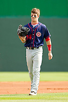 Bryce Harper #34 of the Hagerstown Suns at State Mutual Stadium on May 2, 2011 in Rome, Georgia.   Photo by Brian Westerholt / Four Seam Images