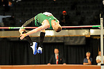 Jesse Williams wins the men's high jump at the first U.S. Open on January 29, 2012 at Madison Square Garden in New York, New York.  (Bob Mayberger/Eclipse Sportswire)