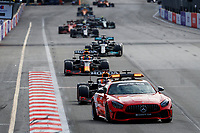 Safety Car, 33 VERSTAPPEN Max (nld), Red Bull Racing Honda RB16B, action during the Formula 1 Azerbaijan Grand Prix 2021 from June 04 to 06, 2021 on the Baku City Circuit, in Baku, Azerbaijan -<br /> FORMULA 1 : Grand Prix Azerbaijan <br /> 06/06/2021 <br /> Photo DPPI/Panoramic/Insidefoto <br /> ITALY ONLY