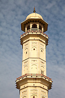 Jaipur, Rajasthan, India.  Ishwar Lat, or Swargasuli Tower, built to commemorate a military victory in the 18th century.