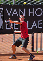 08-08-13, Netherlands, Rotterdam,  TV Victoria, Tennis, NJK 2013, National Junior Tennis Championships 2013, Bernard Wezeman<br /> <br /> <br /> Photo: Henk Koster