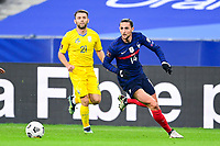 24th March 2021; Stade De France, Saint-Denis, Paris, France. FIFA World Cup 2022 qualification football; France versus Ukraine;  Adrien Rabiot (France)