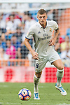 Toni Kroos of Real Madrid in action during the La Liga match between Real Madrid and Osasuna at the Santiago Bernabeu Stadium on 10 September 2016 in Madrid, Spain. Photo by Diego Gonzalez Souto / Power Sport Images