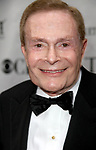 Jerry Herman arriving at the 63rd Annual Antoinette Perry Tony Awards at Radio City Music Hall in New York City on June 7, 2009.