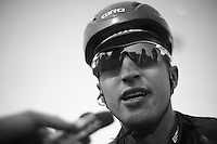111th Paris-Roubaix 2013..Taylor Phinney (USA) postrace interview .