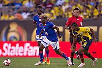 Action photo during the match Ecuador vs Haiti at MetLife Stadium Copa America Centenario 2016. ---Foto  de accion durante el partido Ecuador vs Haiti, En el Estadio MetLife Partido Correspondiante al Grupo - B -  de la Copa America Centenario USA 2016, en la foto: Sony Norde<br /> <br /> -- 12/06/2016/MEXSPORT/Javier Ramirez.
