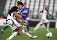 Calcio, Serie A: Juventus - Sampdoria, Turin, Allianz Stadium, July 26, 2020.<br /> Juventus' Cristiano Ronaldo in action during the Italian Serie A football match between Juventus and - Sampdoria at the Allianz stadium in Turin, July 26, 2020.<br /> UPDATE IMAGES PRESS/Isabella Bonotto