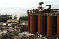 Vista da fábrica da Alunorte Processo de refino da bauxita