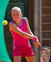 Netherlands, Dordrecht, August 03, 2015, Tennis,  National Junior Championships, NJK, TV Dash 35, Melissa Boyden<br /> Photo: Tennisimages/Henk Koster