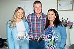 Enjoying the evening in Bella Bia on Thursday, l to r: Liagh Lyne Tobin, Tommy Tobin and Angela Lyne.