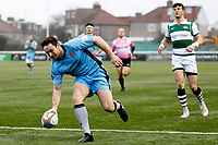 TRY - Miles Mantella of London Scottish scores during the Greene King IPA Championship match between Ealing Trailfinders and London Scottish Football Club at Castle Bar , West Ealing , England  on 19 January 2019. Photo by Carlton Myrie/PRiME Media Images