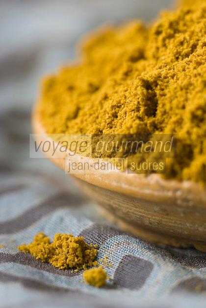 Afrique/Afrique de l'Est/Tanzanie/Zanzibar/Ile Unguja/Stone Town: Poudre de Curry , Zanzibar l'Ile aux épices