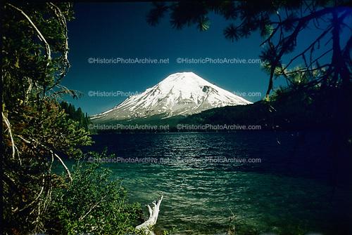CS00008-12. Mt. St. Helens & Spirit Lake, Washington State, ca. 1949-1952.