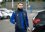 St Johnstone v Motherwell…08.08.21  McDiarmid Park<br />Jason Kerr pictured arriving at McDiarmid Park ahead of today's game against Motherwell.<br />Picture by Graeme Hart.<br />Copyright Perthshire Picture Agency<br />Tel: 01738 623350  Mobile: 07990 594431