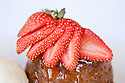 Strawberry and Sticky Date Pudding