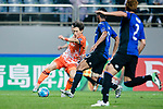 Jeju United Midfielder Lee Changmin (L)4 in action during the AFC Champions League 2017 Group H match Between Jeju United FC (KOR) vs Gamba Osaka (JPN) at the Jeju World Cup Stadium on 09 May 2017 in Jeju, South Korea. Photo by Marcio Rodrigo Machado / Power Sport Images