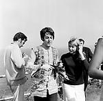 The Beatles 1967 Paul McCartney at  Magical Mystery Tour ..© Chris Walter..