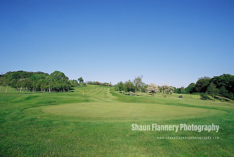 Pix: Shaun Flannery/shaunflanneryphotography.com...COPYRIGHT PICTURE>>SHAUN FLANNERY>01302-570814>>07778315553>>..18th May 2004..............Hickleton Golf Club, Lidgett Lane, Hickleton, Doncaster, DN5 7BE..Golf Course - 7th green.