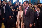 King Felipe VI of Spain and Queen Letizia during his visit to FITUR 2017 at IFEMA in Madrid, Spain. January 18, 2017. (ALTERPHOTOS/BorjaB.Hojas)