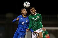 10th October 2019: UEFA European U21 Championship Qualifier Rep of Ireland v Italy