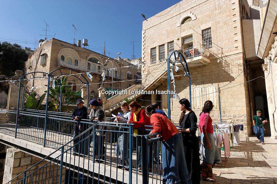 Judea, Hebron Mountain. Beth Hadassah in Hebron
