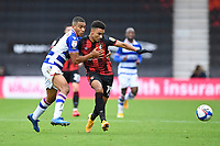 Andy Rinomhota of Reading and Junior Stanislas of AFC Bournemouth vie for the ball during AFC Bournemouth vs Reading, Sky Bet EFL Championship Football at the Vitality Stadium on 21st November 2020