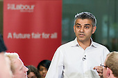 Sadiq Khan MP, launch of Labour's Green Manifesto, Westminster Academy, Labour General Election Campaign, London