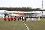 China vs Japan during the 2013 AFC U-16 Women's Championship  Standings match on October 18, 2013 at the Jiangning Sports Centre in Nanjing, China. Photo by World Sport Group