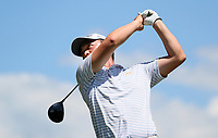 Jimmy Zheng during the New Zealand Amateur Golf Championship, Poverty Bay Golf Course, Awapuni Links, Gisborne, Friday 23 October 2020. Photo: Simon Watts/www.bwmedia.co.nz