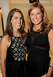 Briana Buxbaum and Katie Hernandez at the Versace pre-party for the Vogue Galleria Fashion Show at the Galleria Thursday Sept. 10,2015.(Dave Rossman photo)