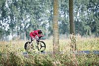 Carl-Frederik Bévort (DEN)<br /> <br /> Junior Men Individual Time Trial from Knokke-Heist to Bruges (22.3 km)<br /> <br /> UCI Road World Championships - Flanders Belgium 2021<br /> <br /> ©kramon
