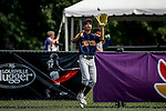 July 28, 2015: Rui Nakayama (12) of Japan makes a catch for an out during the second inning in the game between Japan and Canada during the Cal Ripken World Series at the Ripken Experience powered by Under Armour in Aberdeen, Maryland. Jon Durr/Ripken Baseball/CSM