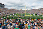 Aug. 30, 2014; Notre Dame Stadium before the game between the Notre Dame Fighting Irish and the Rice Owls..Photo by Matt Cashore