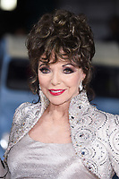 """Dame Joan Collins<br /> arrives for the premiere of """"The Time of Their Lives"""" at the Curzon Mayfair, London.<br /> <br /> <br /> ©Ash Knotek  D3239  08/03/2017"""