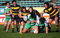 Action from the Farah Palmer Cup women's rugby match between Manawatu Cyclones and Taranaki Whio at CET Stadium in Palmerston North, New Zealand on Saturday, 24 July 2021 Photo: Dave Lintott / lintottphoto.co.nz