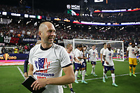 LAS VEGAS, NV - AUGUST 1: United States head coach Gregg Berhalter after a game between Mexico and USMNT at Allegiant Stadium on August 1, 2021 in Las Vegas, Nevada.