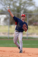 March 22, 2010:  Third Baseman Sean Nicol of the Washington Nationals organization during Spring Training at the Carl Barger Training Complex in Melbourne, FL.  Photo By Mike Janes/Four Seam Images
