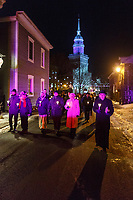 Vigile apres la fusillade  a la mosque de Quebec, 31 Janvier 2017<br /> <br /> <br /> <br /> PHOTO : Agence Quebec Presse