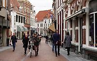 Nederland  Zutphen 2020.  Historische binnenstad. Winkelstraat in Zutphen.  Foto : ANP/ HH / Berlinda van Dam