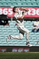 10th January 2021; Sydney Cricket Ground, Sydney, New South Wales, Australia; International Test Cricket, Third Test Day Four, Australia versus India; Cameron Green of Australia bowling