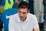 CD Leganes's coach Mauricio Pellegrino during La Liga match between CD Leganes and Atletico de Madrid at Butarque Stadium in Madrid, Spain. August 25, 2019. (ALTERPHOTOS/A. Perez Meca)