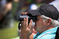 A fan watches the action during day four of the second International Test Cricket match between the New Zealand Black Caps and Pakistan at Hagley Oval in Christchurch, New Zealand on Wednesday, 6 January 2021. Photo: Dave Lintott / lintottphoto.co.nz