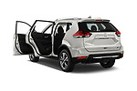 Car images of 2017 Nissan Rogue SL-Hybrid 5 Door SUV Doors