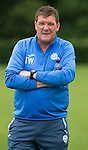 St Johnstone FC Training...<br /> Manager Tommy Wright<br /> Picture by Graeme Hart.<br /> Copyright Perthshire Picture Agency<br /> Tel: 01738 623350  Mobile: 07990 594431