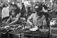Dalat Night Market  at end of december