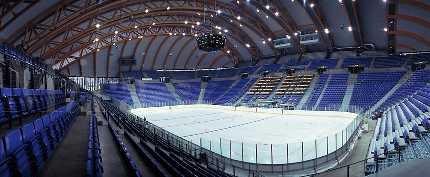Lillehammer Olympic Hockey Arena. Lillehammer, Norway Olympic, Hockey Arena.