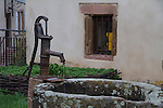"""France, Alsace.  <br /> Slow down and look for more intimate compositions or """"still lifes.""""  <br /> Chatenois, Alsace region, France"""